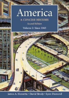Image for America, Vol. 2: A Concise History, Second Edition