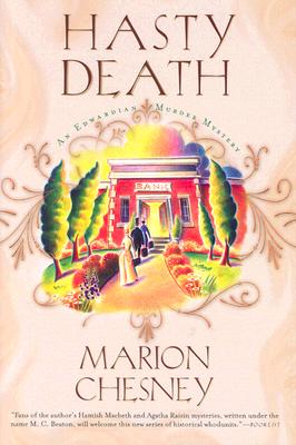 Image for Hasty Death: An Edwardian Murder Mystery (Edwardian Murder Mysteries)