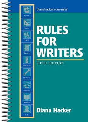 Image for Rules for Writers, 5th Edition
