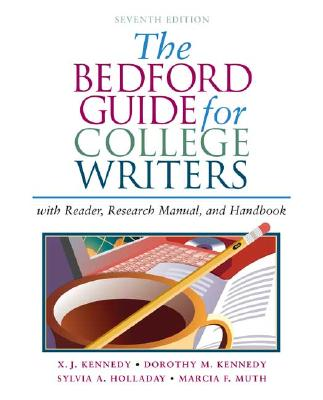 Image for The Bedford Guide for College Writers with Reader, Research Manual, and Handbook