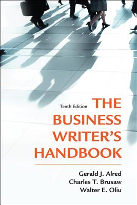 Image for Business Writer's Handbook, The