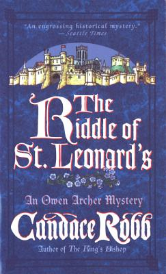 The Riddle of St. Leonard's, Robb, Candace