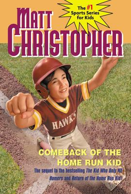 "Comeback of the Home Run Kid (Matt Christopher), ""Christopher, Matt"""