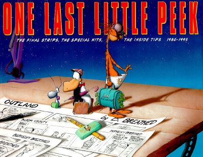 Image for One Last Little Peek, 1980-1995: The Final Strips, the Special Hits, the Inside Tips