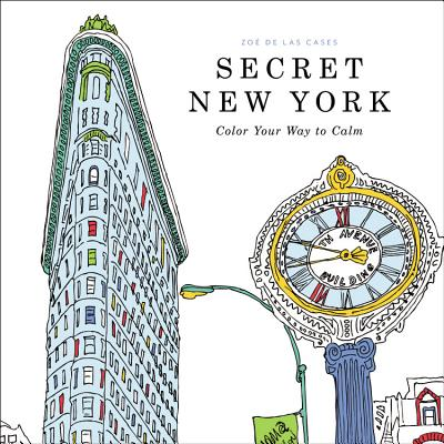 Image for Secret New York: Color Your Way to Calm