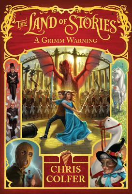 Image for A Grimm Warning (The Land of Stories)