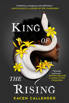Image for KING OF THE RISING (ISLANDS OF BLOOD AND STORM, NO 2)