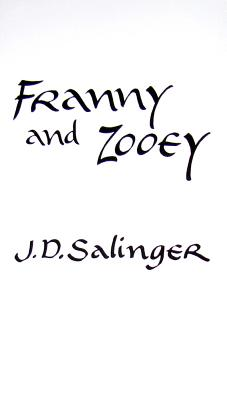Image for Franny and Zooey