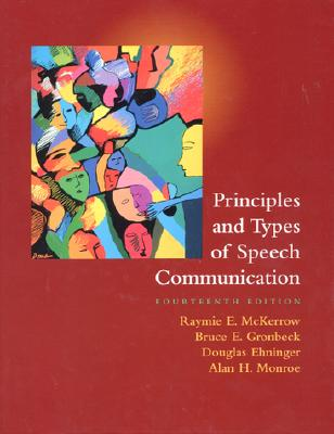 Image for Principles and Types of Speech Communication (14th Edition)