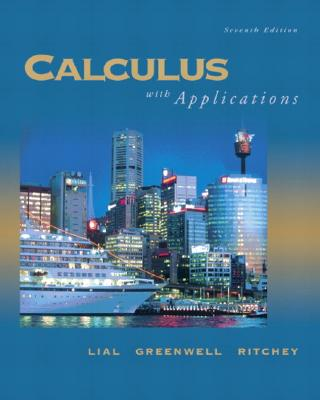 Image for Calculus with Applications (8th Edition)