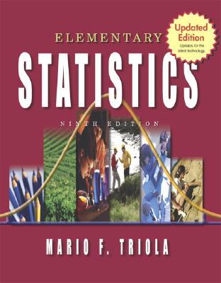 Image for Elementary Statistics: Updates for the latest technology, 9th Updated Edition