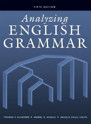 Image for Analyzing English Grammar (5th Edition)