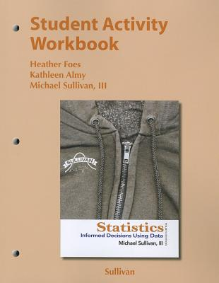 Image for Student Activity Workbook for the Sullivan Statistics Series