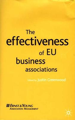 Image for The Effectiveness of EU Business Associations