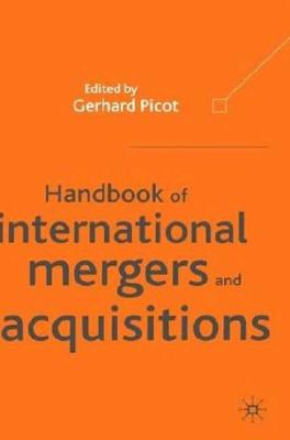 Image for Handbook of International Mergers and Acquisitions