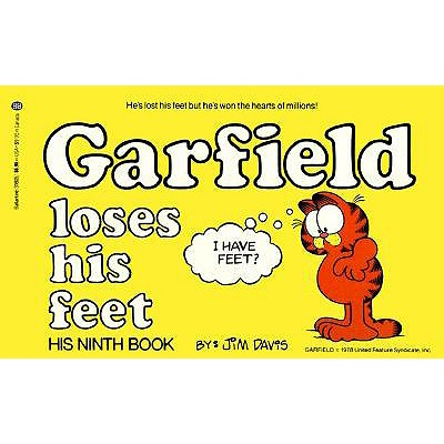 Image for GARFIELD LOSES HIS FEET
