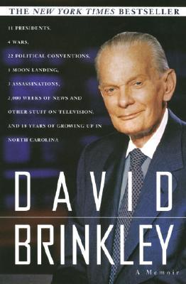 Image for DAVID BRINKLEY : A MEMOIR
