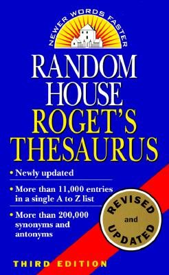 Image for ROGET'S THESAURUS