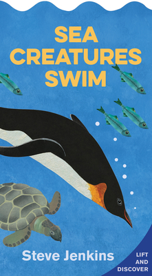 Image for SEA CREATURES SWIM (SHAPED BOARD BOOK WITH LIFT-THE-FLAPS): LIFT-THE-FLAP AND DISCOVER
