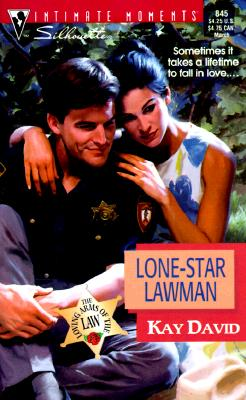 Image for Lone - Star Lawman (Silhouette Intimate Moments No. 845) (Intimate Moments , No 845)