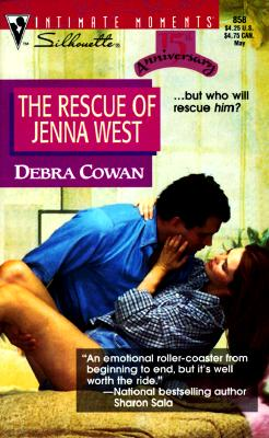 Image for The Rescue of Jenna West (Silhouette Intimate Moments No. 858) (Intimate Moments , No 858)