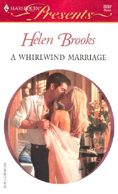 Image for A WHIRLWIND MARRIAGE (Harlequin Presents)