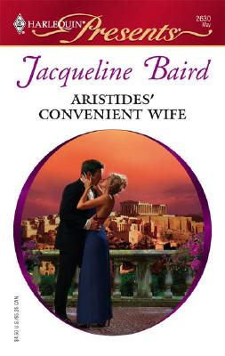 Image for Aristides' Convenient Wife (Harlequin Presents)