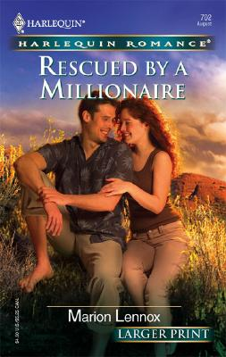 Image for Rescued By A Millionaire (Larger Print Romance)