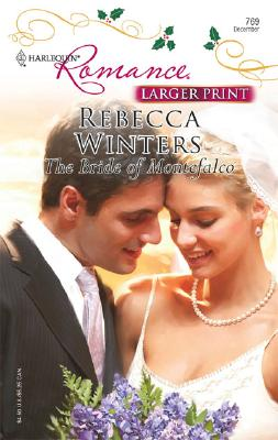 Image for The Bride Of Montefalco (Larger Print Romance)