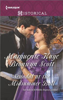 Image for Scandal at the Midsummer Ball: The Officer's Temptation The Debutante's Awakening (Harlequin Historical)