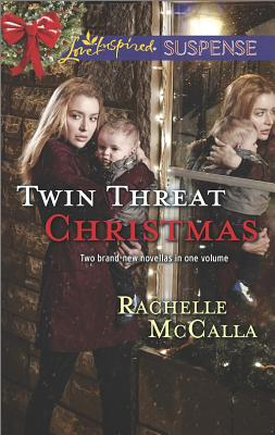 Image for Twin Threat Christmas: One Silent Night Danger in the Manger (Love Inspired Suspense)