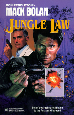 Image for Mack Bolan: Jungle Law