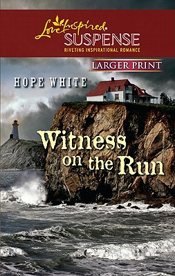 Image for Witness on the Run  [Love Inspired Large Print]