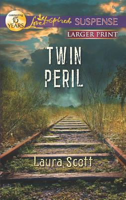 Image for Twin Peril (Love Inspired Large Print Suspense)