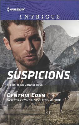 Suspicions (The Battling McGuire Boys), Cynthia Eden