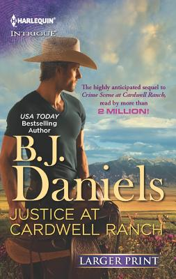 Image for Justice at Cardwell Ranch (Harlequin Intrigue (Larger Print))