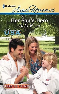 Image for Her Son's Hero (Harlequin Super Romance (Larger Print))
