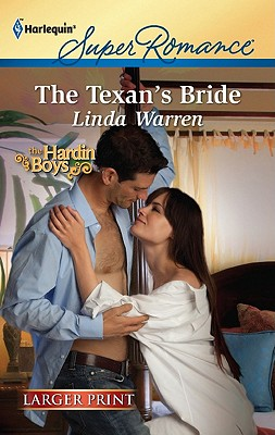 Image for The Texan's Bride (Harlequin Super Romance (Larger Print))