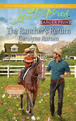 Image for The Rancher's Return (Love Inspired Larger Print)