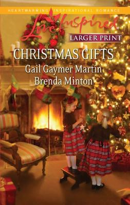 Christmas Gifts: Small Town Christmas Her Christmas Cowboy (Love Inspired (Large Print)), Gail Gaymer Martin, Brenda Minton