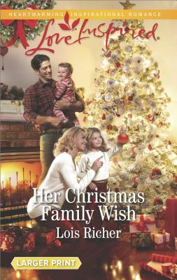 Image for Her Christmas Family Wish (Wranglers Ranch)