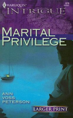 Image for Marital Privilege (Larger Print Intrigue)