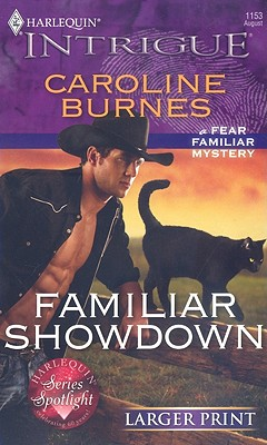 Image for Familiar Showdown (Larger Print Harlequin Intrigue)