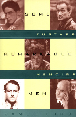 Image for SOME REMARKABLE MEN : FURTHER MEMOIRS