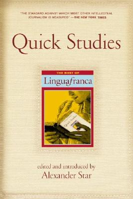 Image for QUICK STUDIES : THE BEST OF LINGUA FRANC