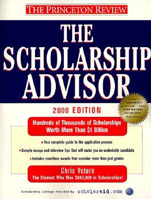 Image for The Scholarship Advisor, 2000 Edition