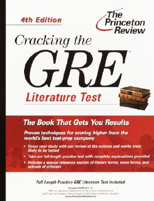 Image for Cracking the GRE Literature Test, 4th Edition (Graduate Test Prep)