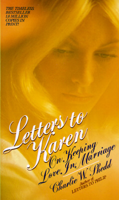 Image for Letters to Karen: On Keeping Love in Marriage