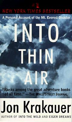 Image for Into Thin Air: A Personal Account of the Mt. Everest Disaster