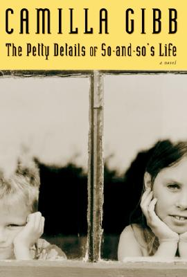 Image for PETTY DETAILS OF SO-AND-SO'S LIFE A NOVEL